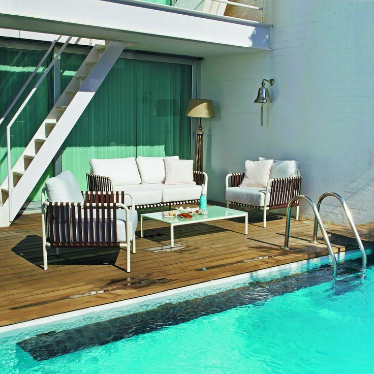 ideas para decorar y amueblar el jardn terrazas piscina verano tumbonas