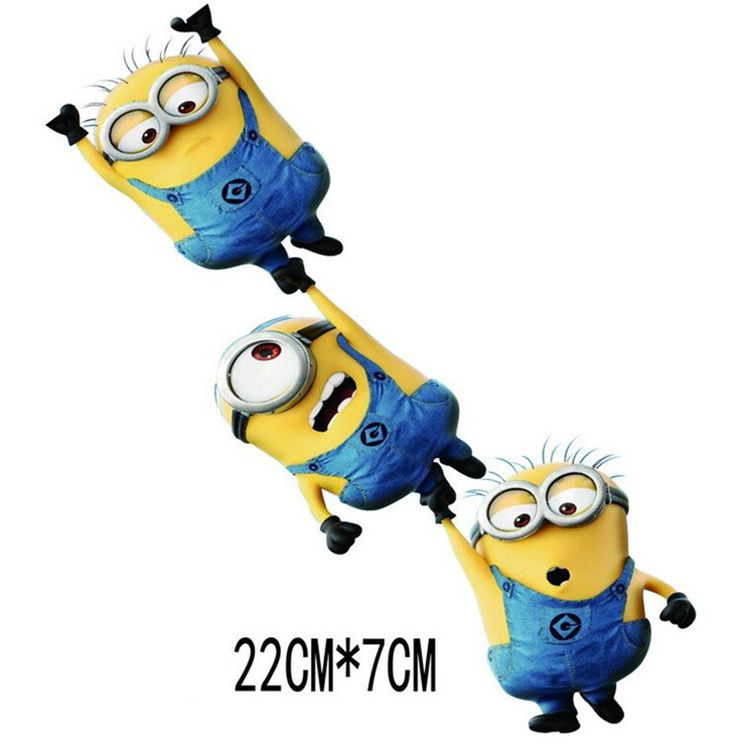 Reflective Rear Window Cover Despicable Me Minions Movie Sticker Auto Car Vinyl Decal Truck Motorcycle Glass Waterproof Stickers