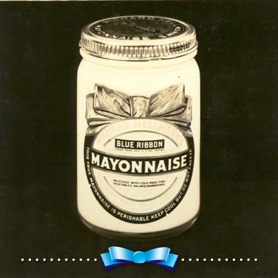 """HELLMANN's was originally called """"The Blue Ribbon Mayonnaise"""" because the blue ribbon was a common symbol of outstanding quality - you can still find it on our jars today!"""