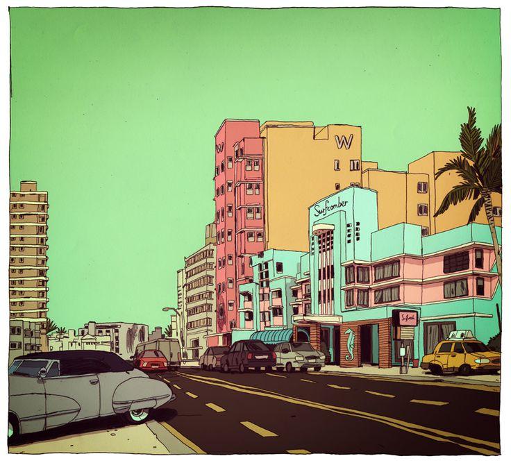 Jon Juarez ilustración: Mudanza