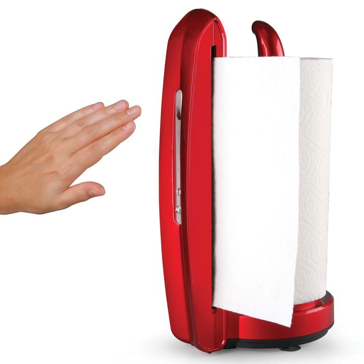 The Touchless Paper Towel Dispenser.