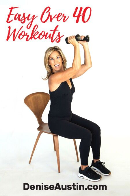 Try out Denise Austin's Stop The Clock Workout Plan! This ...