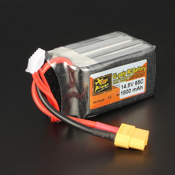 Puissance zop 14.8v 1800mah 65c 4S batterie lipo XT60 prise de courant