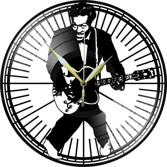 Horloge Vinyle décoration CHUCK BERRY