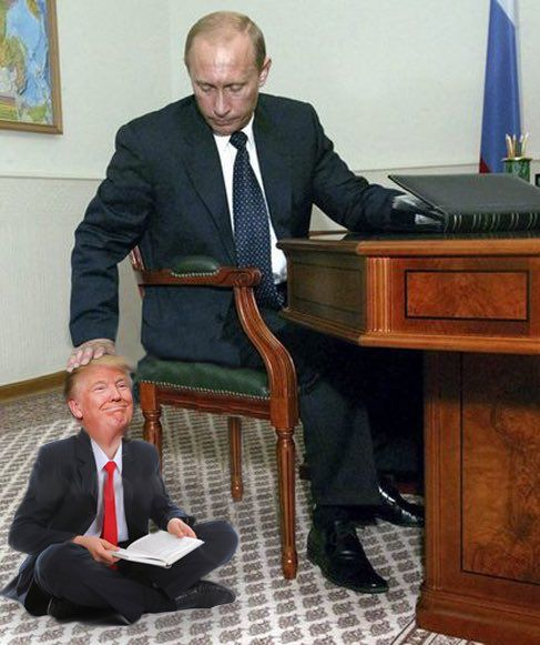 Pay attention, Trumpy. Let papa show you how it's done...