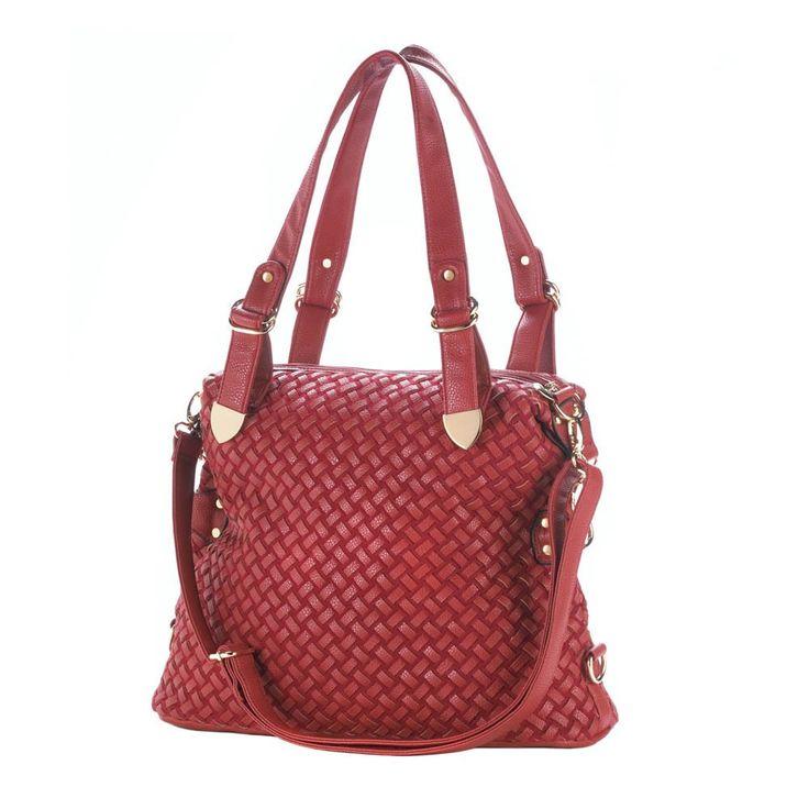 iGiftsAndHome.com - Jetset Red Shoulder bag with adjustable shoulder strap, $79.98 (http://www.igiftsandhome.com/Jetset-Red-Shoulder-bag-with-adjustable-shoulder-strap/)