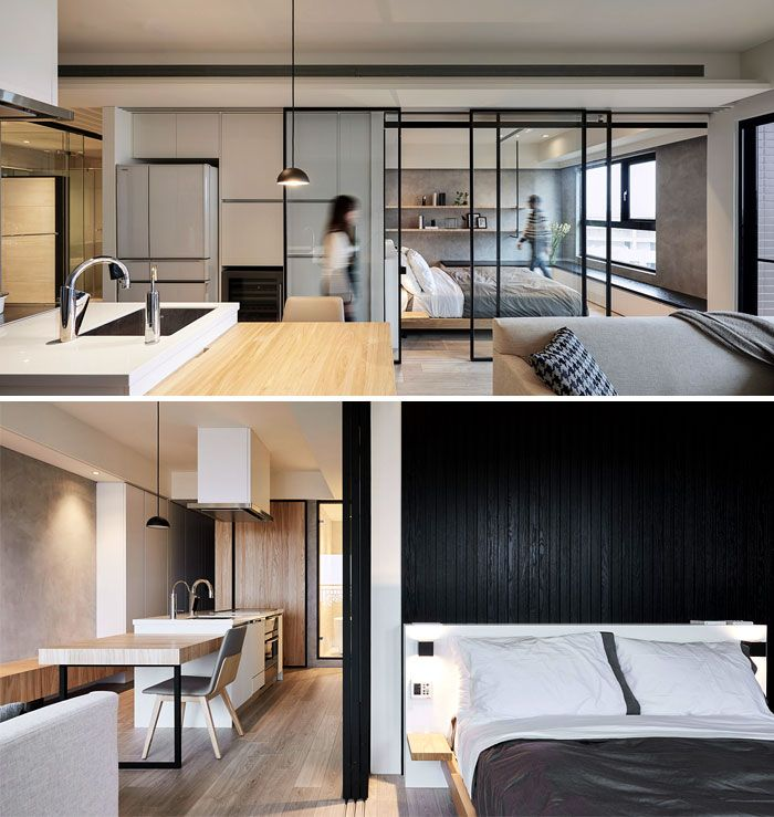 Cool 50 Small Studio Apartment Design Ideas 2019 Modern Tiny Interior Design Ideas Grebswwsoteloinfo