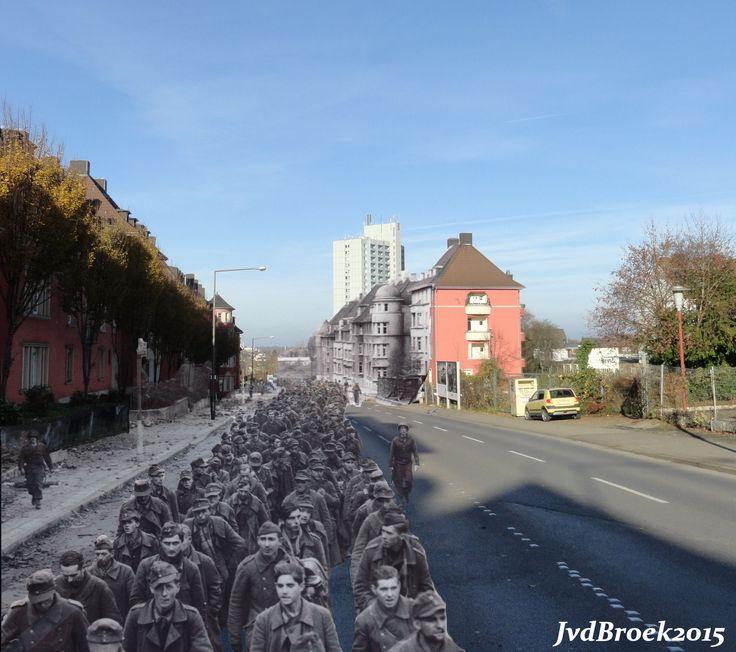 Aachen – Joseph-von-Görres-Straße, 1944, Prisoners of War
