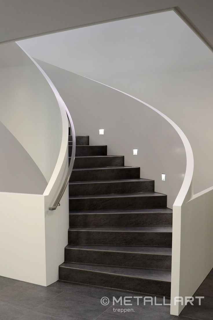 Stahlwangentreppe | LED Beleuchtung | MetallArt Metallbau Schmid GmbH