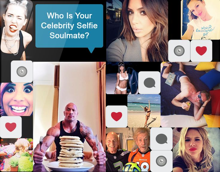 Who's Your Celebrity Selfie Soulmate?