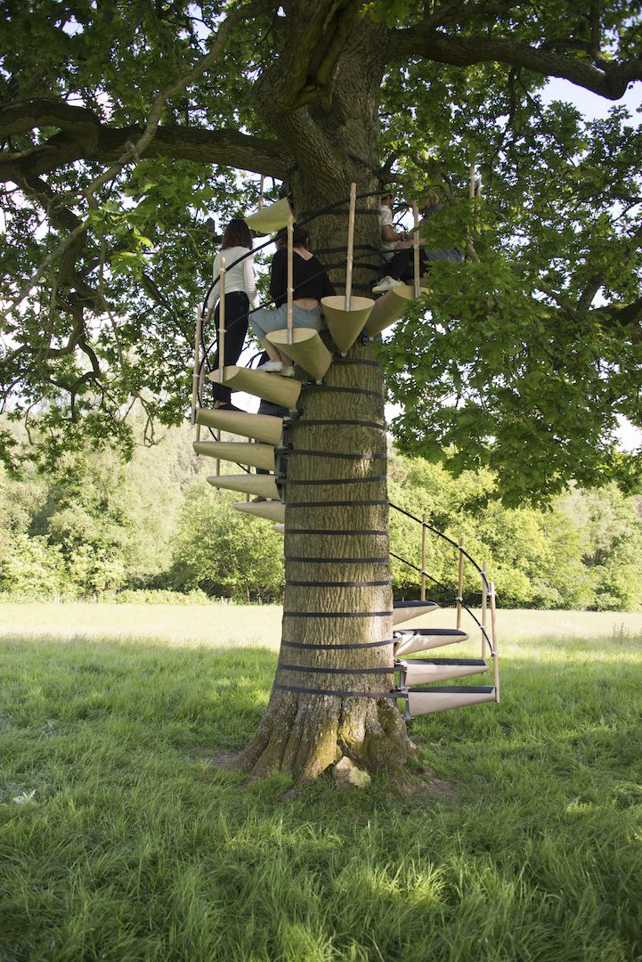 Best Modular Staircase Attaches To Any Tree For Easy Access To 400 x 300