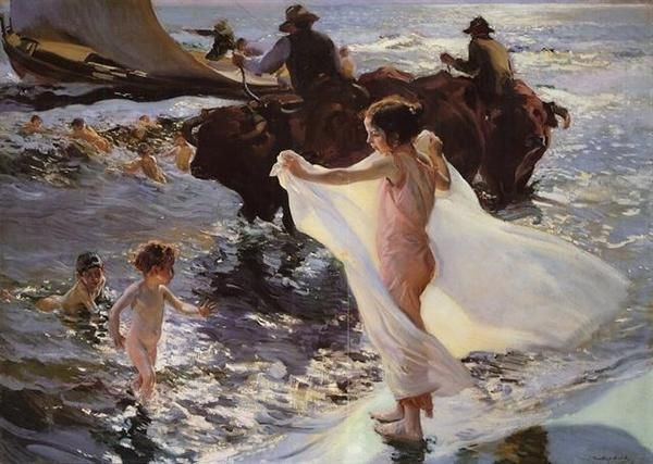 Photos of Sorolla Painting