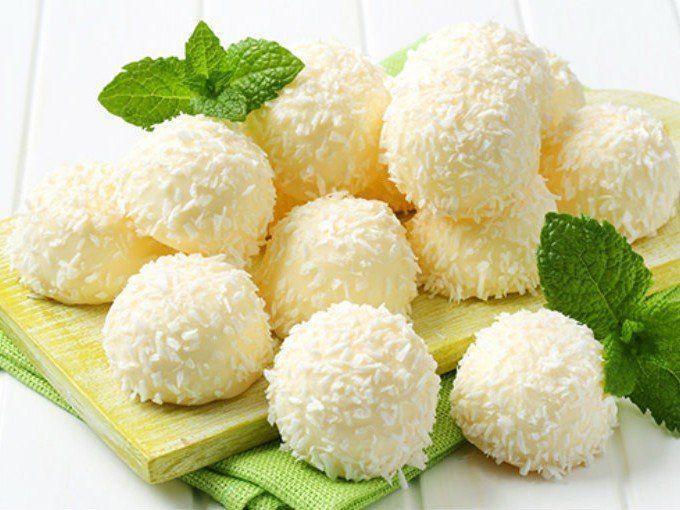 Bolitas de coco
