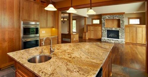 Desert Mountain Countertops | Granite Countertops: Kitchens Design, Kitchen Countertops, Decoration Idea, Counters Tops, Kitchens Islands, Granite Kitchens, Kitchens Countertops, Granite Countertops, Kitchens Sinks