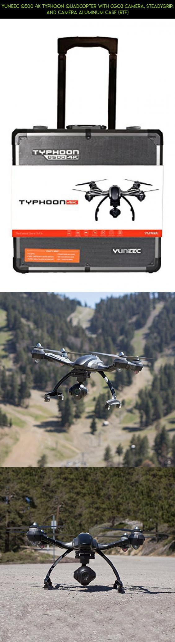 YUNEEC Q500 4K Typhoon Quadcopter with CGO3 Camera, SteadyGrip, and Camera Aluminum Case (RTF) #camera #drone #kit #shopping #parts #fpv #gadgets #remote #products #plans #racing #yuneec #control #technology #tech