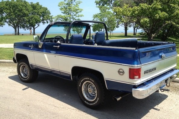 In 1969, GM released the Blazer into the Chevylineup, making it the smallest full-size SUV Chevy made at the time. With a full convertible removable top available until 1975, the Blazer and its counterpart theGMC Jimmy, soon became instantly recognizable among enthusiasts alike.