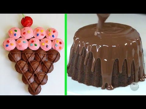 Chocolate Flower Cake Decorations Compilation