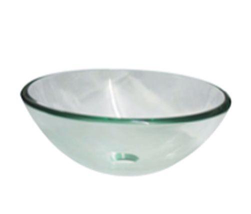 Arto Clear Glass Basin - 2 sizes 420mm & 320mm