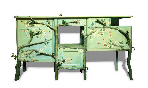 25 beste idee n over opgeknapte meubels op pinterest hergebruikte meubels meubilair makeover - Oude meubilair dressoir ...