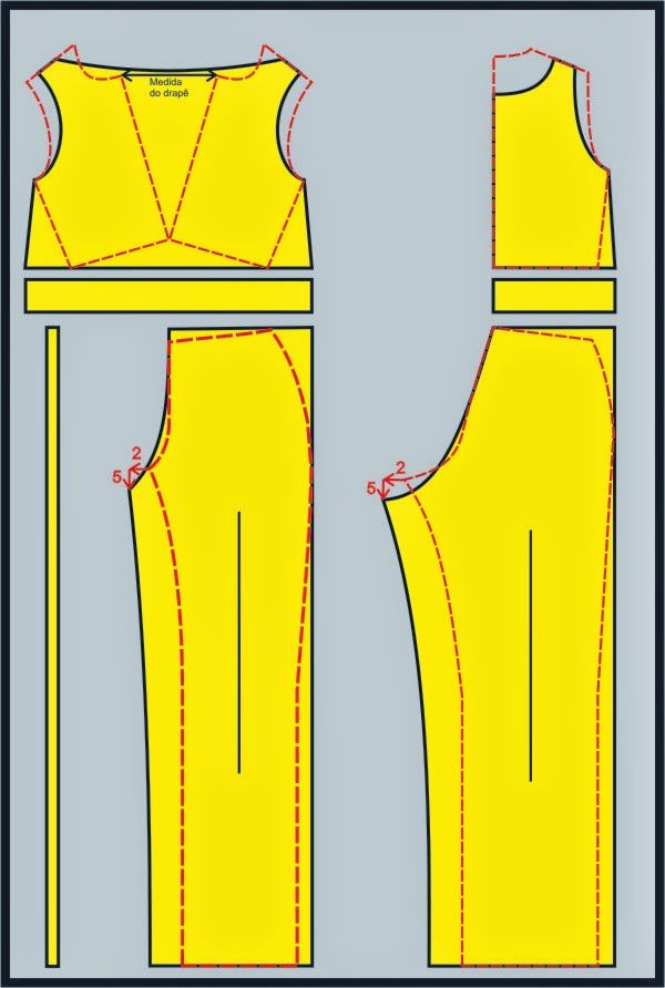 Sewing Pattern / Jumpsuit