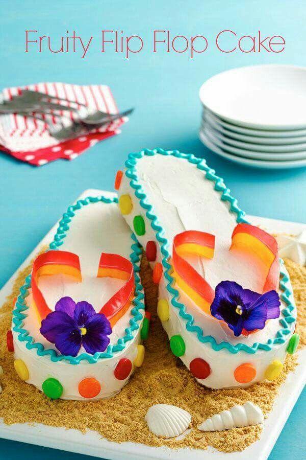 Fruity Flip Flop Cake