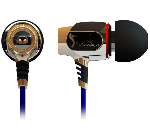Les transducteurs à larges bandes du casque Monster Miles Davis sont logés dans des coques métalliques usinées dans la masse avec une extrême précision. -     #Cobra #Cobrason #Earphone #headphone #casque #intraAuriculaire #Audio #HiFi #Sound #highTech #Monster #MilesDavis