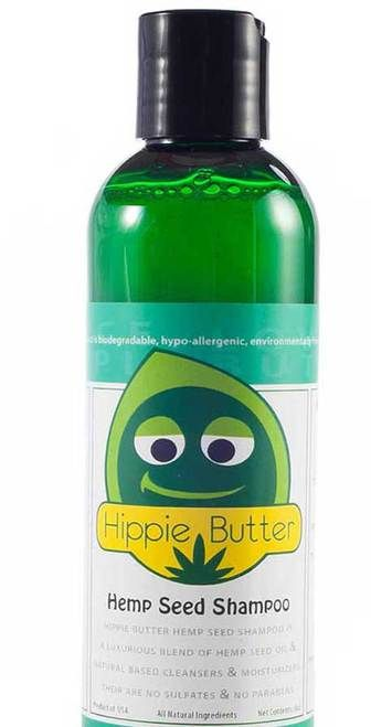 Hippie Butter Hemp Seed Oil Shampoo is a luxurious combination of unique, natural cleansers & moisturizers along with extracts from Hemp Seeds, Green Tea, Chamomile and Rosemary blended perfectly to provide gentle cleansing for all hair types. Hippie Butter Hemp Seed Oil Shampoo restores, moisturizes and is ideal and safe for daily use on damaged and color-treated hair. Specially formulated with Hemp Seed Oil to moisturize and condition your hair and scalp. FREE SHIPPING
