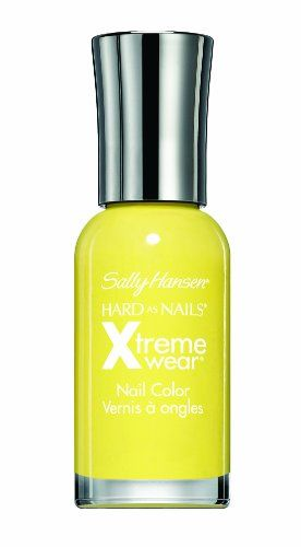 Sally Hansen Hard As Nails: Mellow Yellow......:)