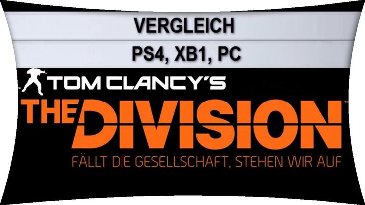 The Division Beta - PC vs. PS4 vs. Xbox One Vergleich