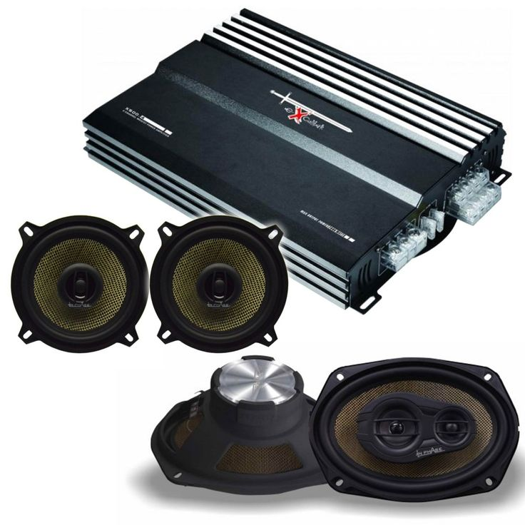 In Phase Pack deal with 4 Channel Excalibur X500.4  - Car Audio Centre