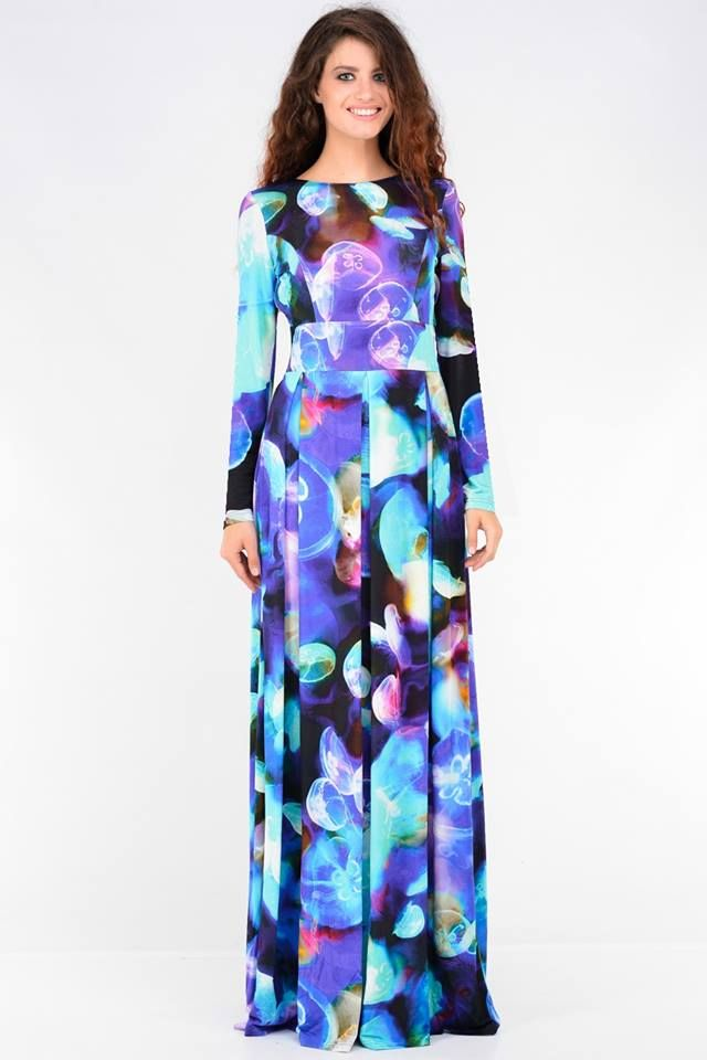 Long dress with jellyfish - 156,79€