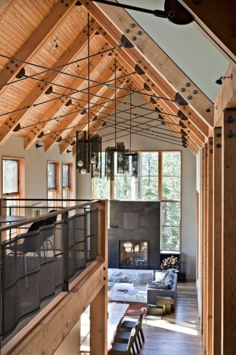 Cathedral Ceiling Home Plans Best Of Two Story House Ideas: 17 Best Ideas About Post And Beam On Pinterest