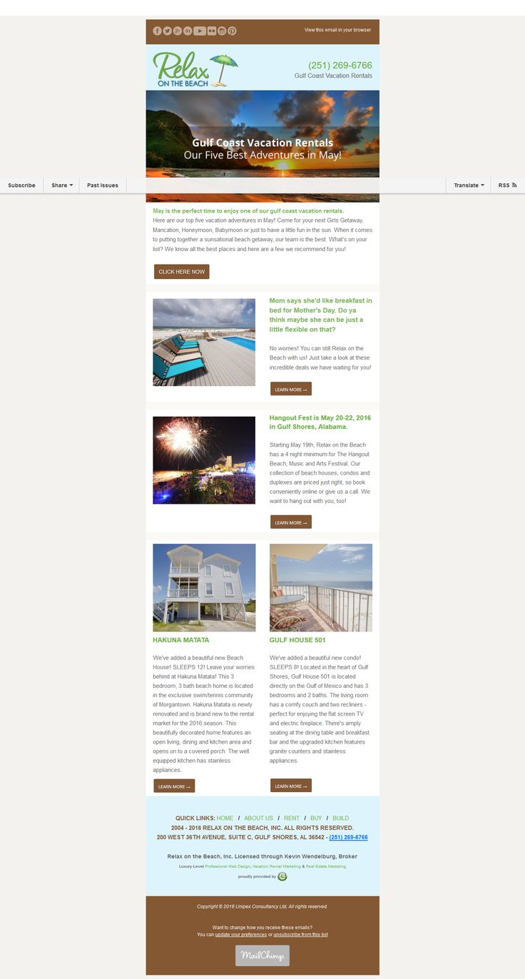 I Will Design Awesome Mailchimp Newsletter Template - Awesome mailchimp templates