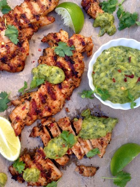 The Perfect Grilled Chicken Recipe #chicken #easyweeknightdinners
