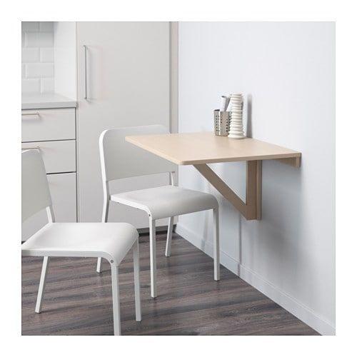 Klapptisch Ikea Norbo.Norbo Wandklapptisch Birke Treibholz In 2019