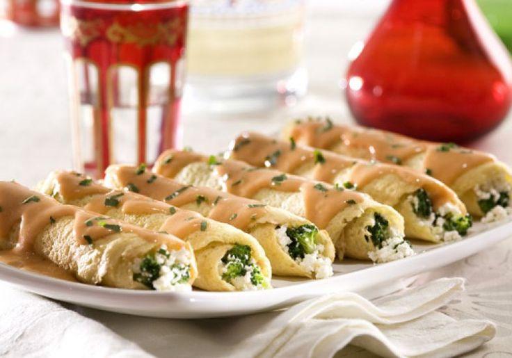 Recheada om brócolis e ricota, ninguém vai resistir ao sabor desta panqueca feita com massa de batata. Veja a