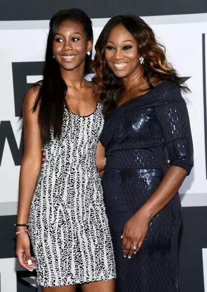 Yolanda Adams and her daughter Taylor