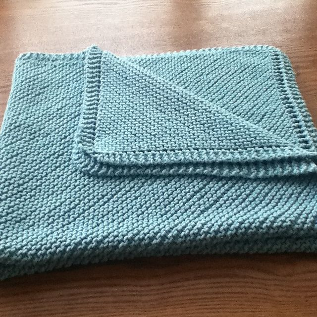 Diagonal Comfort Blanket Pattern By Lion Brand Yarn Baby