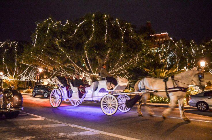 Saint Augustine Night Of Lights Trolley Tour