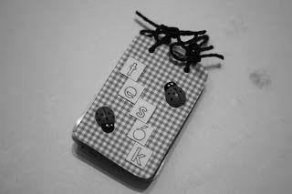Brothers- mini card album #scrapbook #minialbum #brothers #cardalbum
