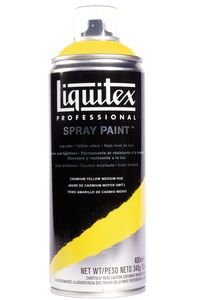 Acrylverf spray Liquitex, 400 ml, geel