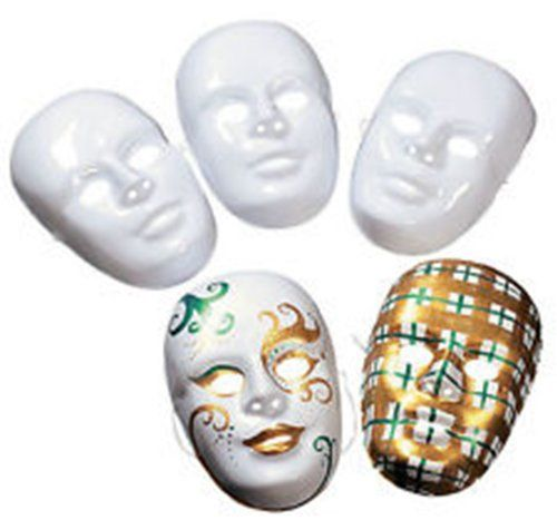 Design Your Own White Face Masks (12 ct)Craft Project/BIRTHDAY/Scouts/Mardi Gras Fun Express http://www.amazon.com/dp/B00BAD2F0O/ref=cm_sw_r_pi_dp_dKZbub1T90XBN