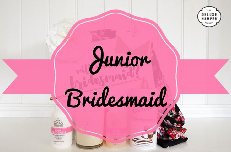 Will you be my Junior Bridesmaid….. Satin Robe Deluxe