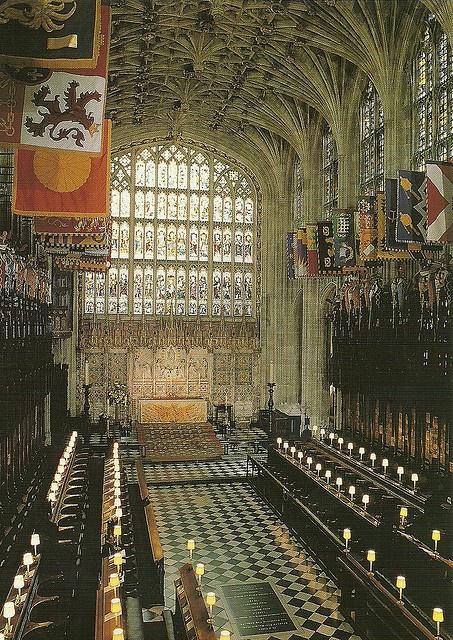 St Georges Chapel Windsor, UK by mrsris, via Flickr