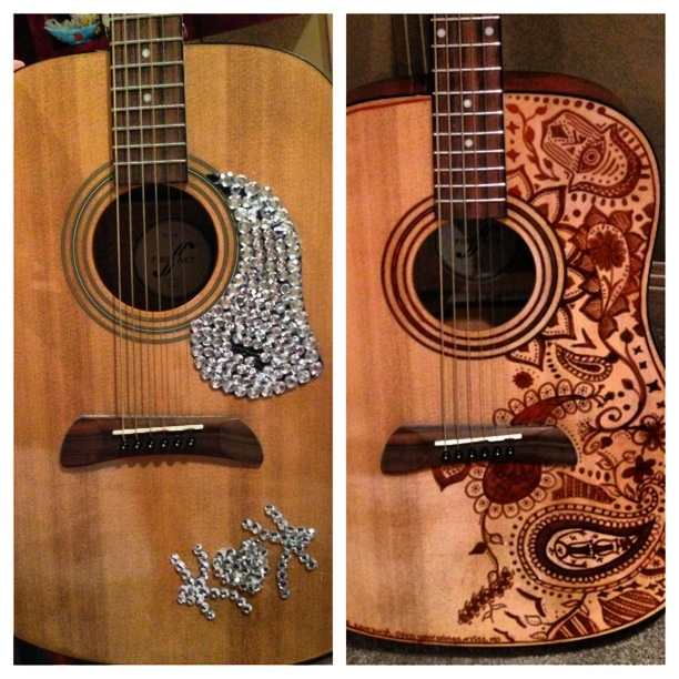 84 best guitar makeover images on pinterest musical instruments guitar makeover painted guitarsantique carsacoustic guitareasy diyvintage solutioingenieria Gallery