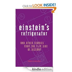 """""""Einstein's Refrigerator: And Other Stories from the Flip Side of History""""  Fun read.  Written by a high school history teacher.  He researched and collected these strange, little known but TRUE events from history in order to keep his students interested in history.  Each story is equivalent to a couple of pages long."""