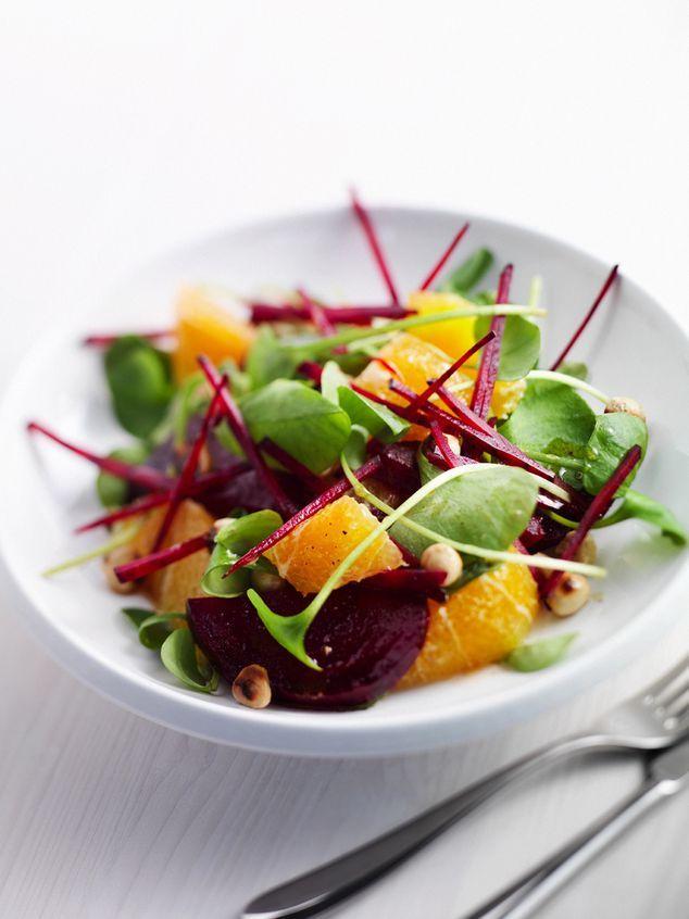 salade van winterpostelein