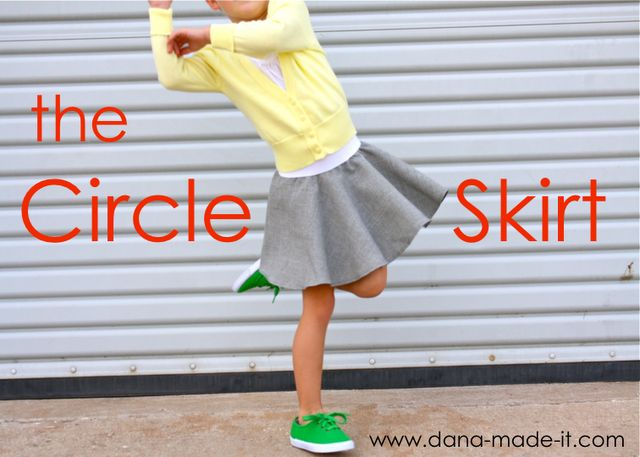 the circle skirt tutorial for girls and women