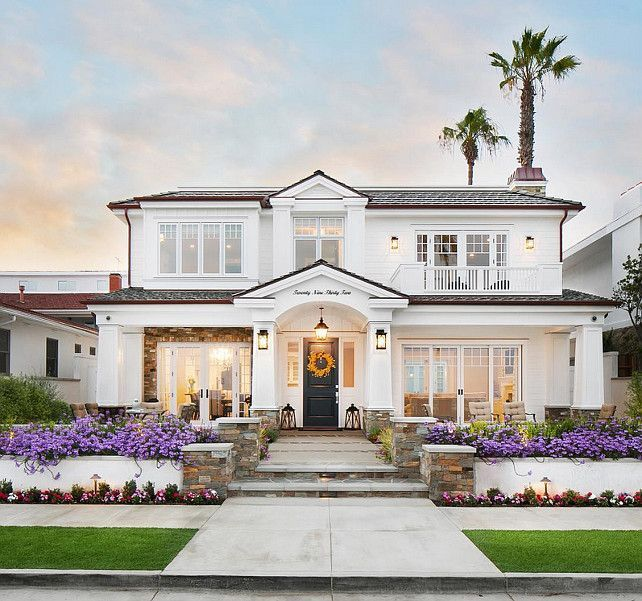 25 best ideas about classic house exterior on pinterest for Classic beach house designs