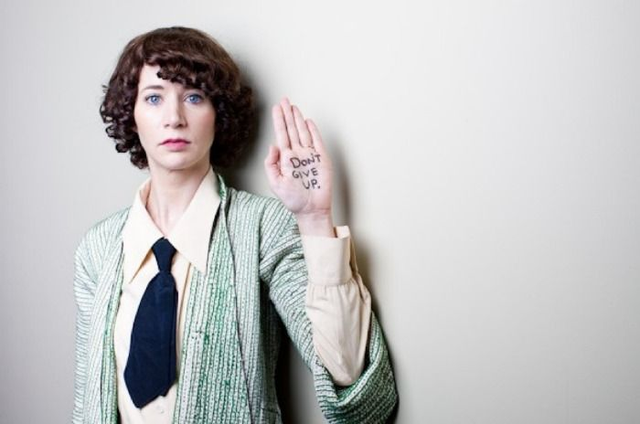 visual-poetry:  »don't give up«bymiranda july(+)